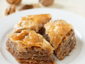 Baklava - Best Iftar dishes in UAE