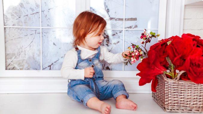 Flower baby names for girls