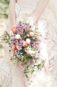 Spring Tulip Wedding Bouquets