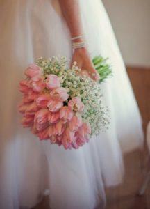 Tulip wedding bouquets